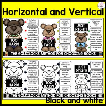 Goldilocks' Guide to Choosing Books-Bookmark