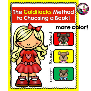 Goldilocks' Guide to Choosing Books-Bulletin Board