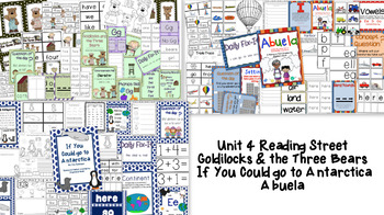 Goldilocks, If You Could go to Antarctica, & Abuela Bundle - Reading Street
