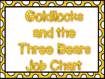 Goldilocks Job Chart