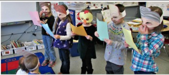 Goldilocks Literacy - Masks, Scripts and Printables