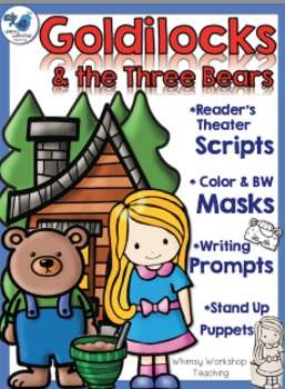 Goldilocks Masks, Scripts and Printables - Whimsy Workshop