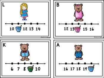Goldilocks Missing Numbers 1-20