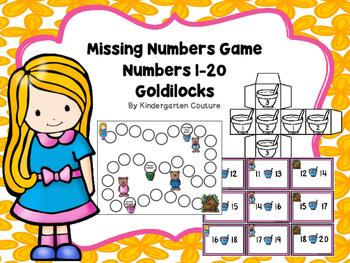 Goldilocks Missing Numbers Game