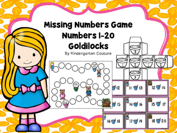 Goldilocks Missing Numbers Game