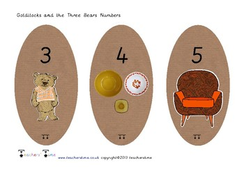 Goldilocks Numbers 0-20