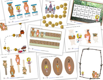 Goldilocks Resource Pack / Bundle Containing 20 Resources