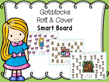 Goldilocks Roll And Cover For Smart Board With Paper Copies