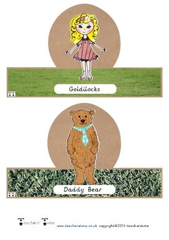 Goldilocks Small World Characters