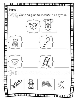 Rhyme Goldilocks & The 3 Bears