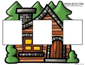 Goldilocks & The 3 Bears {Retelling a Story} Storyboard & Character Folktale Fun