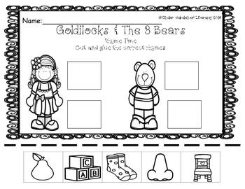 Goldilocks & The 3 Bears-Rhyme Time with Goldilocks and Baby Bear