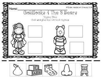 Rhyme-Goldilocks & The 3 Bears