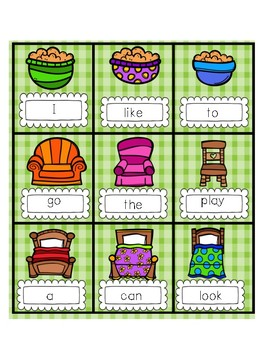 Sight Word Goldilocks & The 3 Bears-GOLDI