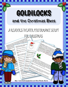 Goldilocks & The Christmas Elves: Character Cards & Prop Signs