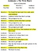 Goldilocks & The Three Bears Reader's Theater (6 parts)