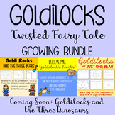 Goldilocks Twisted Fairy Tale BUNDLE- 3 Stories Included