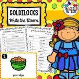Goldilocks and the Three Bears Write the Room
