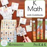 Goldilocks and the Three Bears Kindergarten Mathematics Extension
