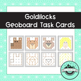 Goldilocks and The 3 Bears Geoboard Task Cards