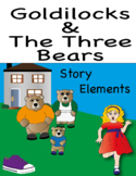 Goldilocks and The 3 Bears- learning story elements throug