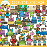 Goldilocks and The Three Bears Clip Art {Fairy Tale Clip Art}
