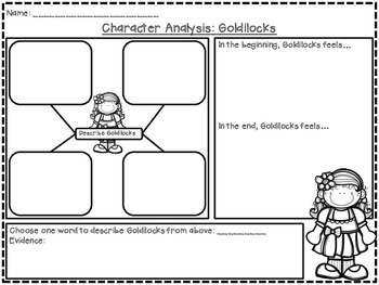 Goldilocks and The Three Bears (Emergent Story Unit w/CCSS)