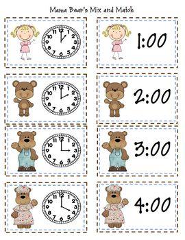 Goldilocks and The Three Bears Literacy and Math Activities