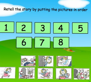 Goldilocks and The Three Bears Smart Board Activity