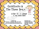 Goldilocks and The Three Bears Speech and Language Companion Pack