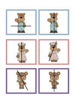 Goldilocks and The Three Bears - Symmetry Pictures [FREE]
