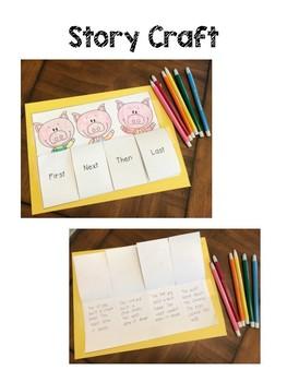 Goldilocks and The Three Little Pigs - Story Recall