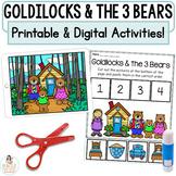 Goldilocks and the 3 Bears   Digital Google™ Slides & Printable Activities