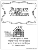 Goldilocks and the 3 Bears Early Fluent Reader.  KDG. 1st