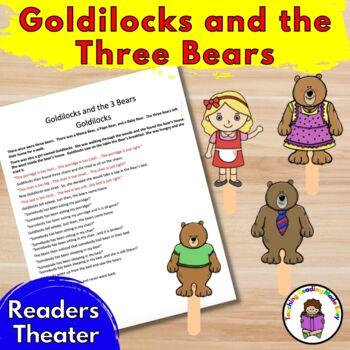 Goldilocks and the 3 Bears Readers Theater
