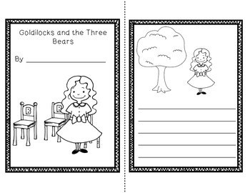 Goldilocks and the 3 Bears Unit~ Includes Graphic Organizers & Much More!