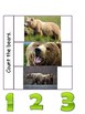 Goldilocks and the 3 bears - working with numbers 0-3.  Interactive Notebook.