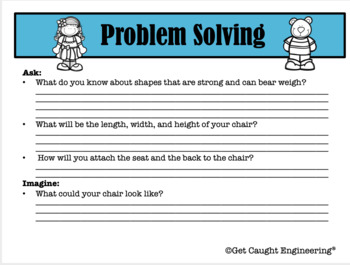 STEM to the Rescue! -Goldilocks, A New Chair and Structural Engineering
