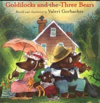 Goldilocks and the Three Bears Amazing Words PPT