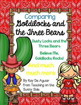 Comparing Goldilocks and the Three Bears