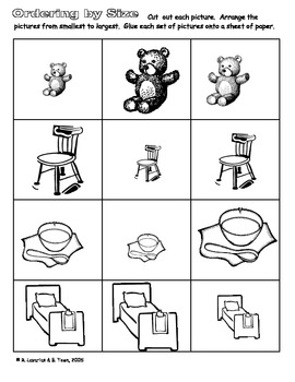 Goldilocks and the Three Bears Activities