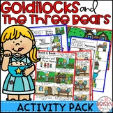Goldilocks and the Three Bears Activities (Reader, Sequencing & More)