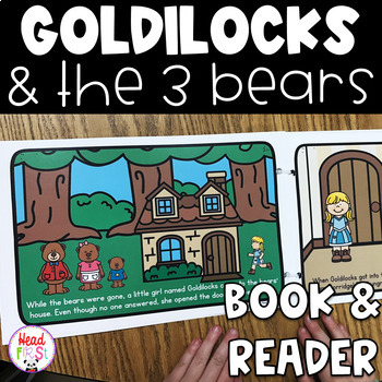 Goldilocks And The Three Bears Read Aloud Book And Student Reader