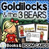Goldilocks and the Three Bears Boom Cards™, Emergent Reade