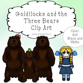 Goldilocks and the Three Bears: Clip Art