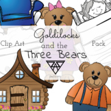 Goldilocks and the Three Bears Clip Art Pack