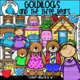 Goldilocks and the Three Bears Clip Art Set - Chirp Graphics