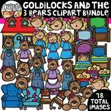 Goldilocks and the Three Bears Clipart Bundle {Reading Clipart}