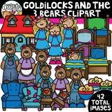 Goldilocks and the Three Bears Clipart {Reading Clipart}