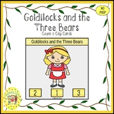 Goldilocks and the Three Bears Clip Task Cards